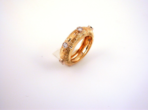 Wedding Ring Big Yellow - Fede Grande Gialla