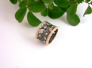 Black Forest Ring - Anello Foresta Nera
