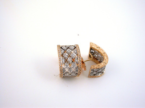 Rhomboids Earrings - Orecchini Rombi