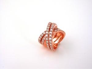 Anello - Massai Collection - Anello Multistrand in oro rosa