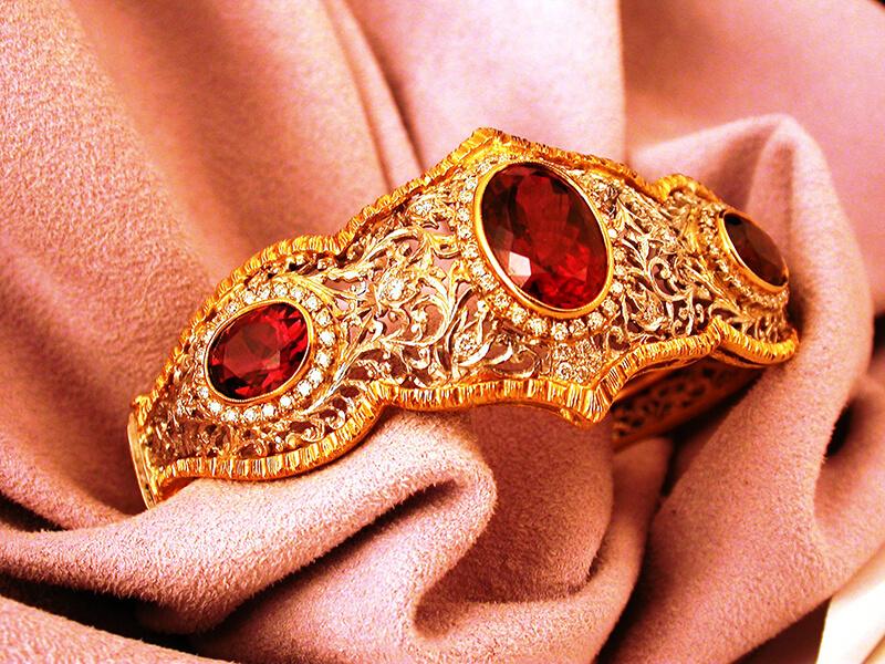 Bracelet in Florentine style - Primavera by Botticelli